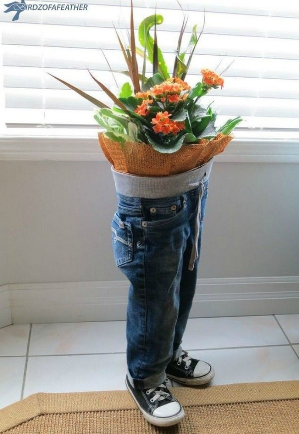 bouquet pants