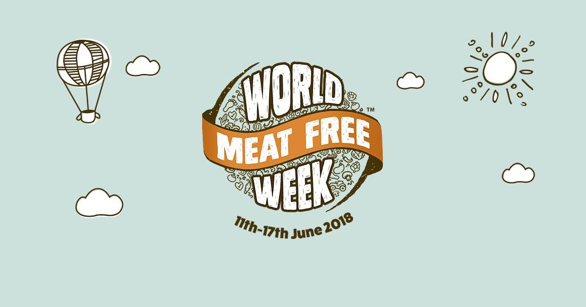 meat free week 2018 banner